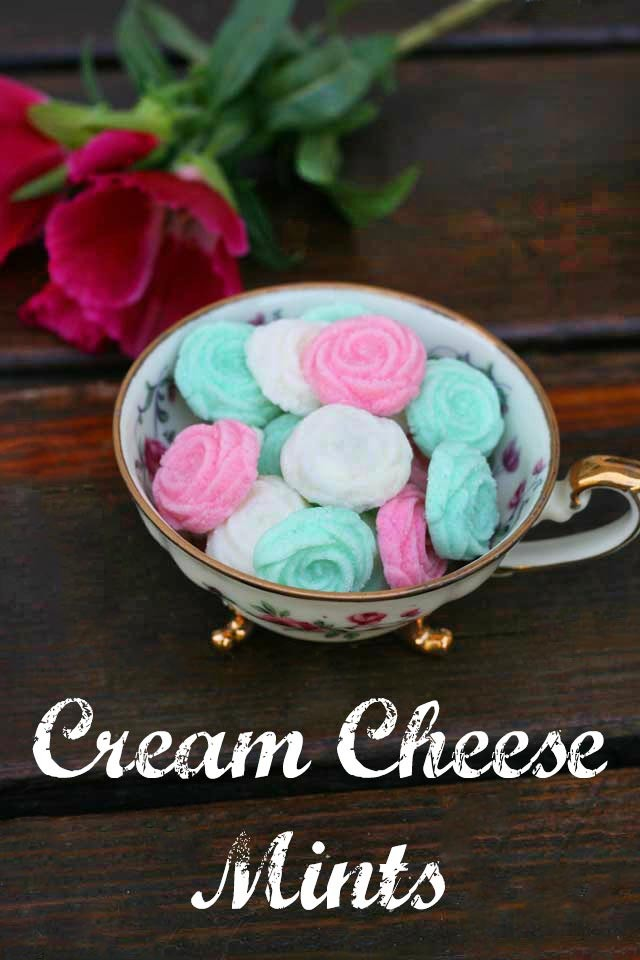 Old Fashioned Cream Cheese Mints Recipe Cheap Recipe Blog