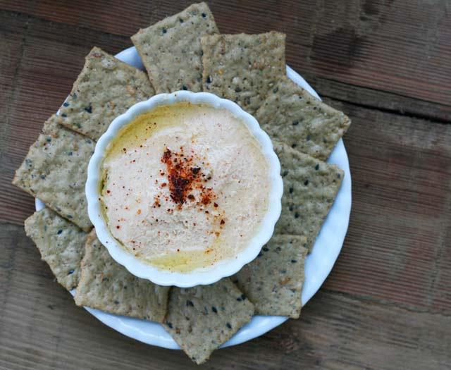 Roasted cauliflower and Greek yogurt dip