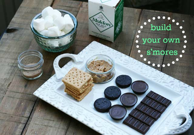 Build your own s'mores bar