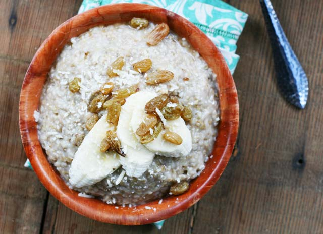 Oatmeal risotto recipe