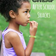 50 cheap after school snack ideas, from Cheap Recipe Blog