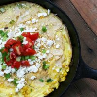 Corn And Scallion Chilaquiles