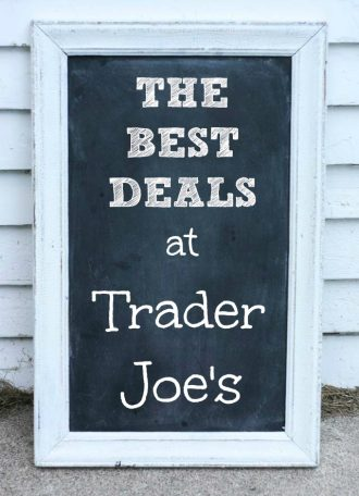 Getting the best deals at Trader Joe's