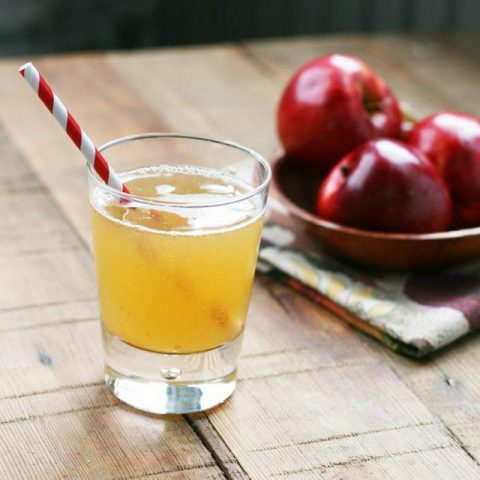 Homemade Apple Soda