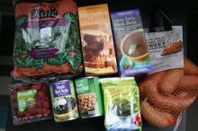 Buying superfoods at Trader Joe's