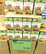 365 Organic products at Whole Foods