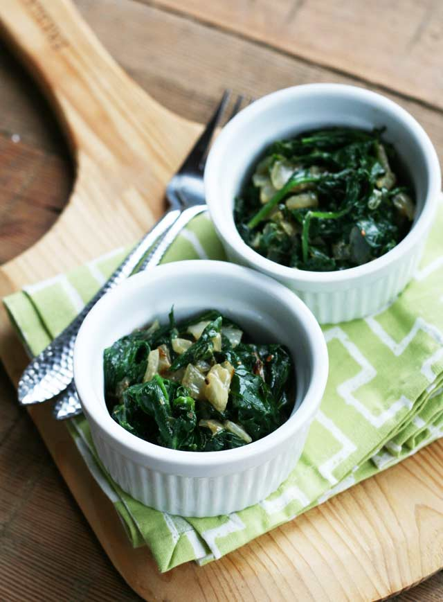Jalapeno creamed spinach, similar to the Brasa kind