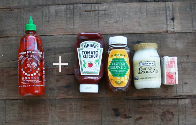 Top 5 Sriracha-Based Sauces: Mixing Sriracha sauce with other sauces makes for some major awesomeness.