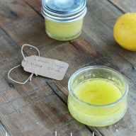 DIY lemon-sugar hand scrub, from Cheap Recipe Blog