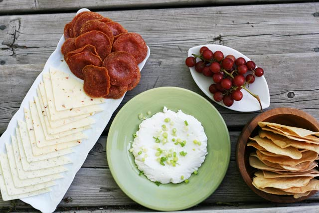The $10 Cheese Plate, from Cheap Recipe Blog