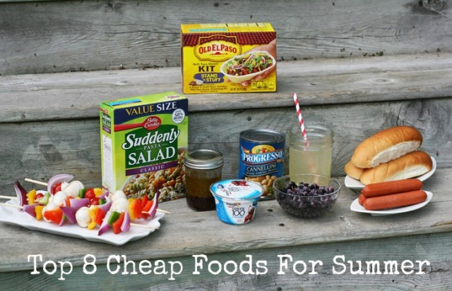 Top 8 cheap foods for summer, from Cheap Recipe Blog