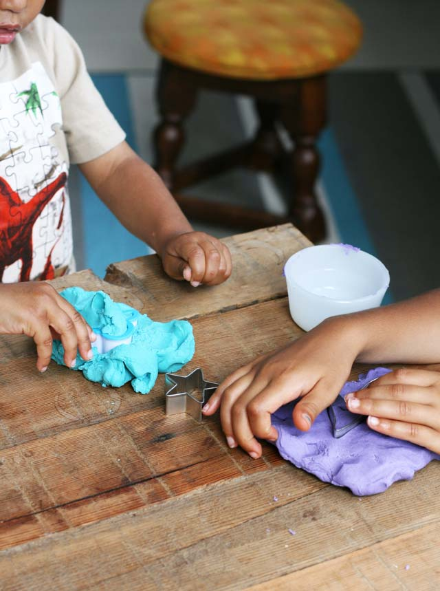 Homemade play dough recipe, just 60 cents a batch