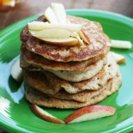 Apple oatcake recipe, from Cheap Recipe Blog