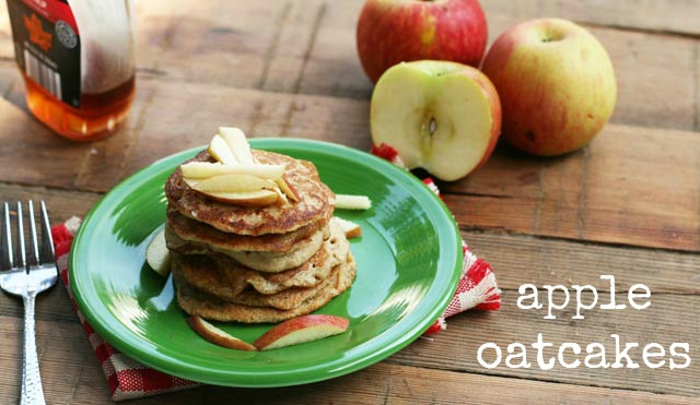 Apple oatcakes recipe, from Cheap Recipe Blog