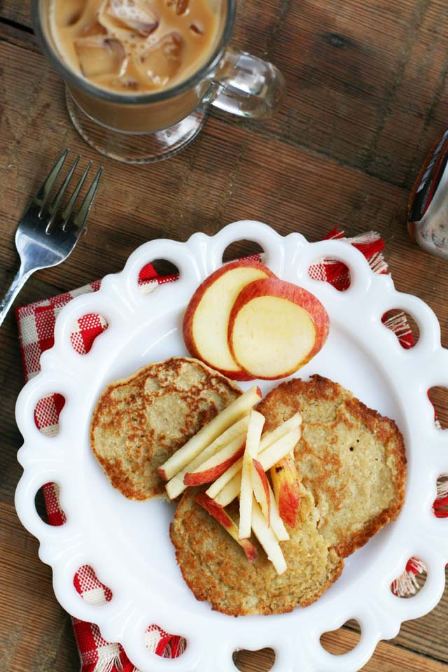 Apple oatcakes, from Cheap Recipe Blog