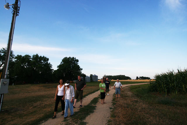A farm walk
