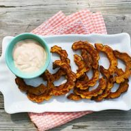 Delicata squash fries recipe