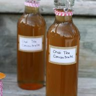 Chai Tea Concentrate (to make your own Chai Tea Lattes at home!) Makes a great gift. Repin to save.