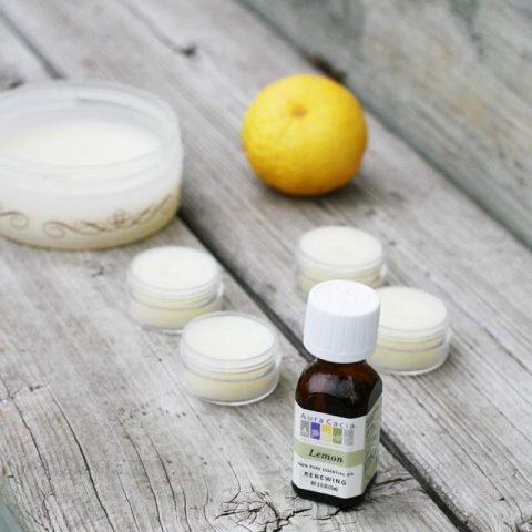 DIY Lemon Skin Balm