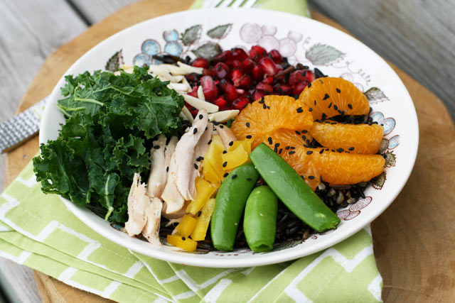 Fruited wild rice bowls. Click through for recipe!