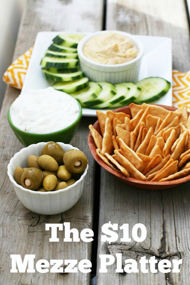 The $10 Mezze Platter: Inspired by the Academy Award-nominated film American Sniper. Click through for details!