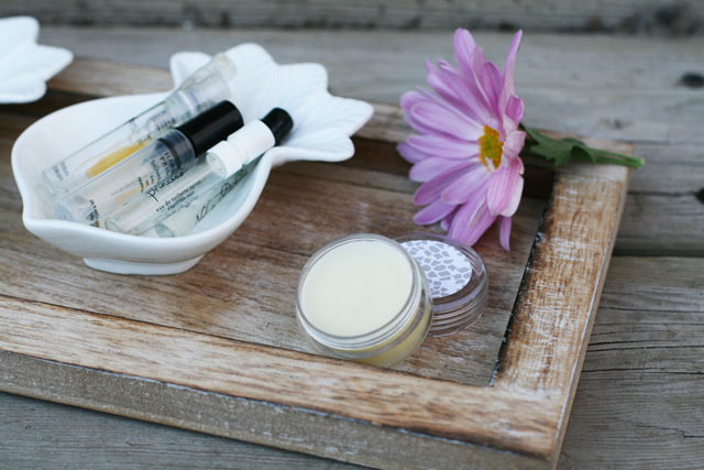 DIY solid perfume, made out of perfume sample vials. Get instructions to make your own.