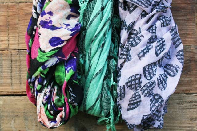 Buying pretty scarves at thrift shops: Plus other thrift shop Items I have purchased.