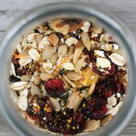 How to make healthy breakfast porridge - a make-ahead breakfast that costs just pennies to make.