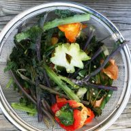 How to make homemade vegetable broth (using vegetable scraps)