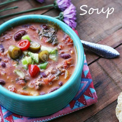 Got 10 minutes? Then you can make this hearty soup for your family. Click through for instructions.