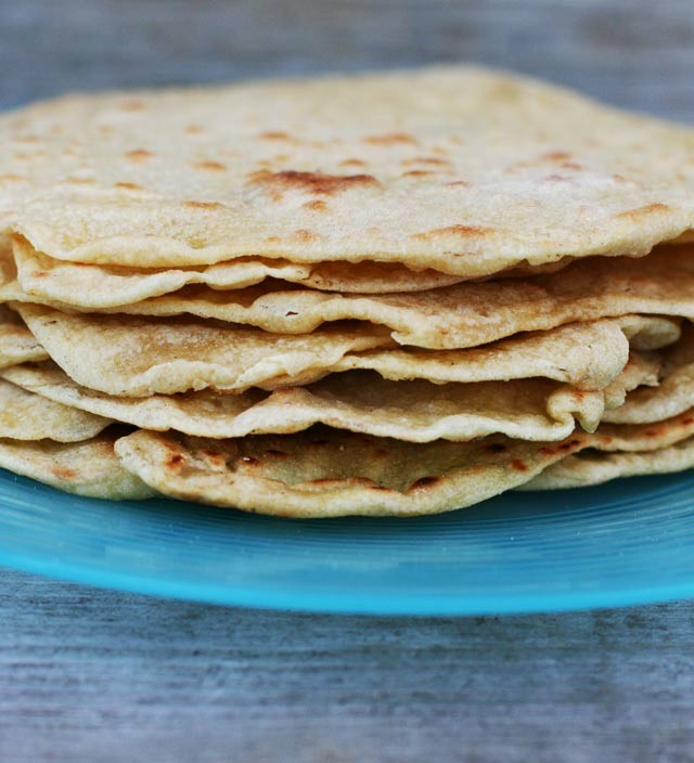 Einkorn wheat tortillas recipe. Learn how to make them at home!
