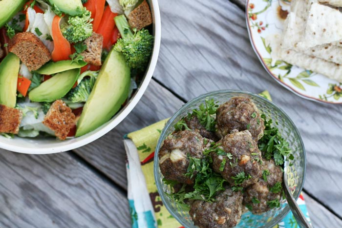 My Norwegian grandmother's meatball recipe: It's famous in my family! Click through for recipe.
