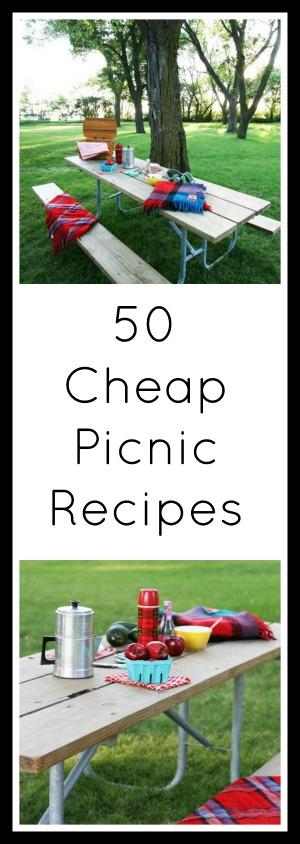 50 Cheap Summer Picnic Recipes