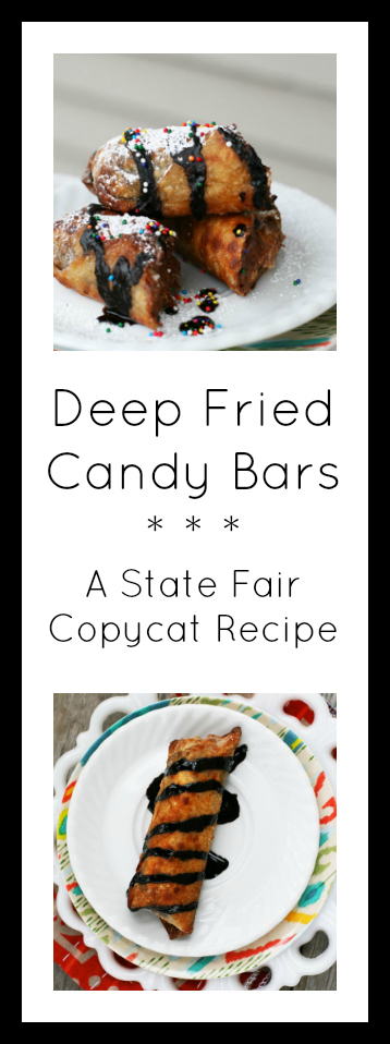 Deep-fried candy bars: A State Fair copycat recipe. Click through for recipe!