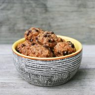 Paleo energy bites: Also gluten-free, dairy-free, and Whole30 appropriate.