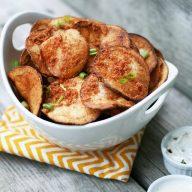 Homemade BBQ Potato Chips