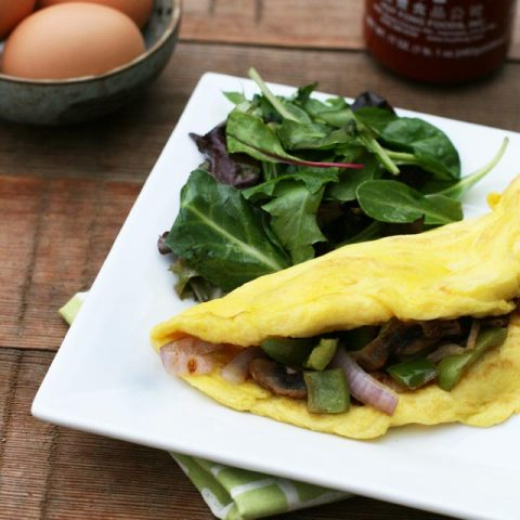 Learn how to make a very fluffy omelette. One easy trick makes all the difference. Click through for instructions!