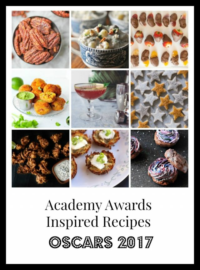 Academy Awards-Inspired Recipes for 2017: Get 10 party-ready recipes and throw the greatest Oscars party ever!