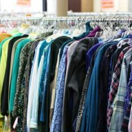 How I save money on clothes: I shop at thrift shops and garage sales Click through for more ideas!