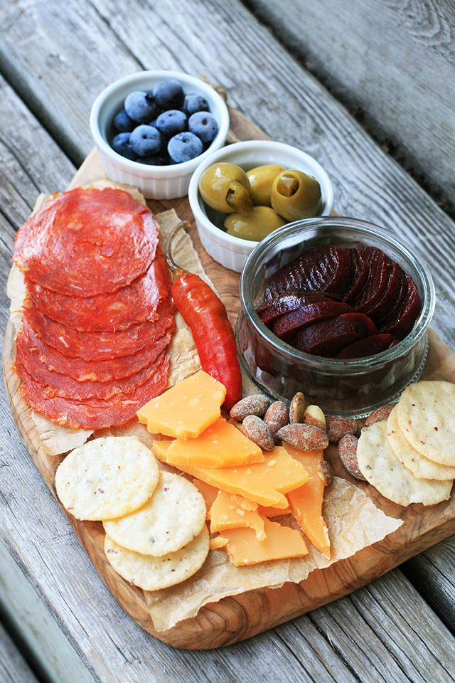 A cheap charcuterie board: You don't have to spend a lot of money to create a great appetizer platter!