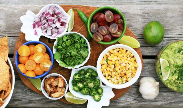 DIY Guacamole Bar: Let your guests load up on lots of toppings.