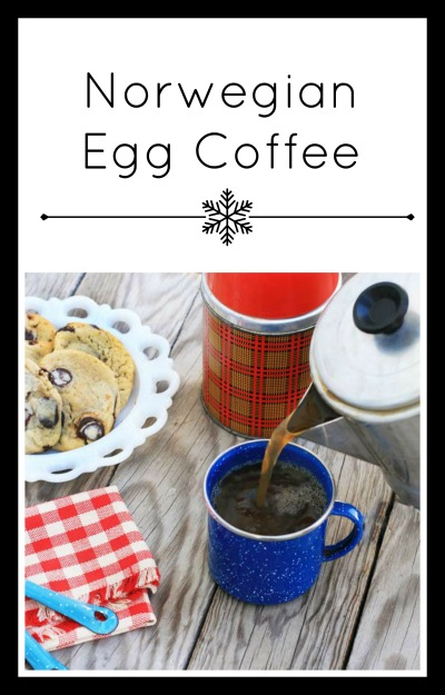 Norwegian egg coffee: An unexpected ingredient makes normal coffee so much smoother. Learn how to make it at home.