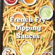 Creative Dipping Sauces For French Fries. Don't settle for ketchup - try a flavorful sauce on your fries instead. Click through for 25+ ideas.