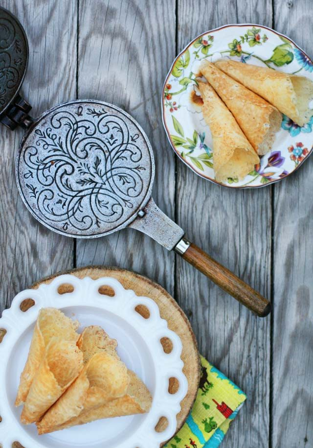 Norwegian krumkake recipe: My mom's recipe that's been in the family for decades!