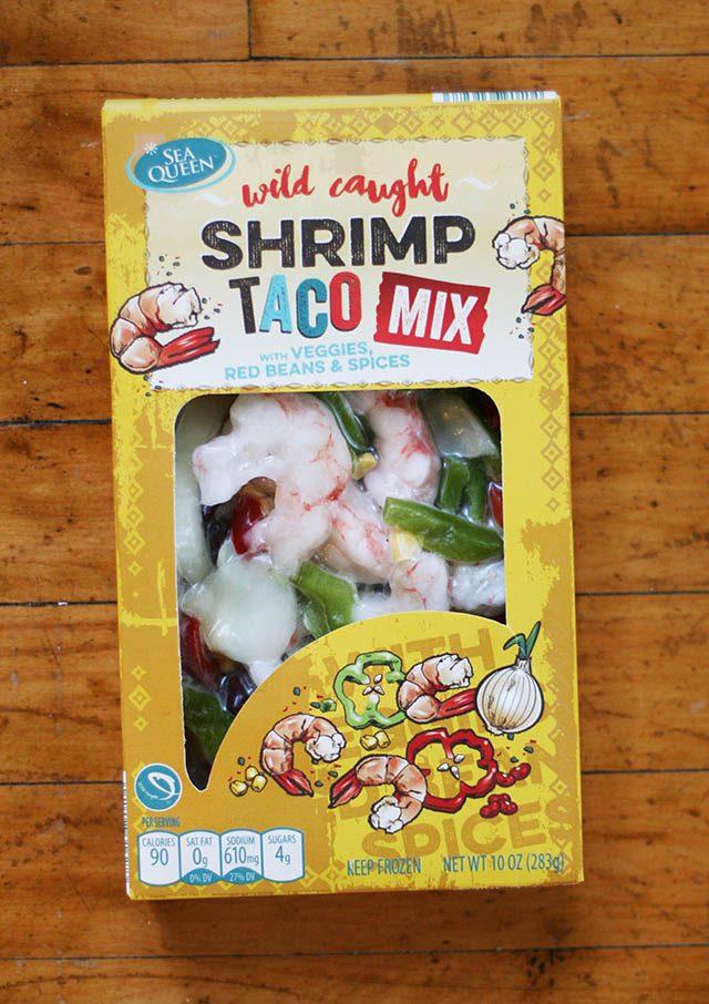 ALDI Shrimp taco mix review -plus other food reviews for ALDI foods.
