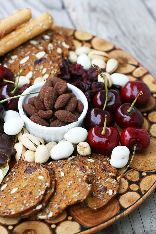 Dessert platter: Fill your platter with all sorts of delicious dessert items - on a budget!