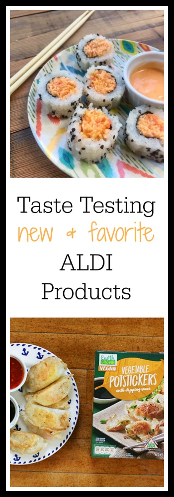 Taste testing new & favorite ALDI products: Click through to see my picks!