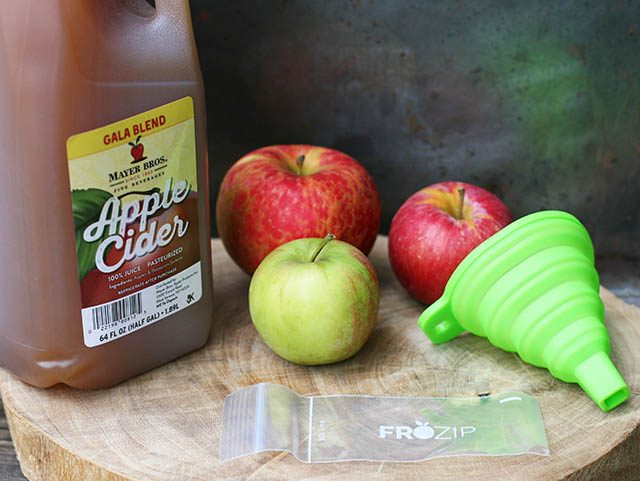 Learn how to make apple cider pops - just one ingredient!