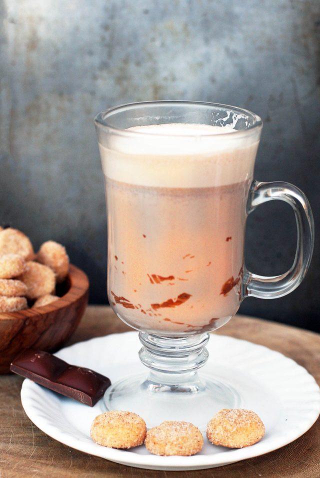 El Submarino: Argentina's delicious hot chocolate. Click through for recipe!