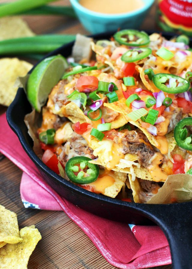 Game-day pulled pork nachos: Everyone needs a great nacho recipe up their sleeve. This is mine. And it could be yours.